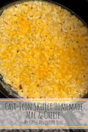 Cast-Iron Skillet Homemade Mac & Cheese