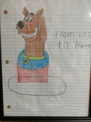 Frank Welker Fan Art - Scooby