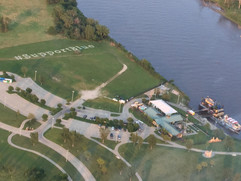 Aerial View River City Star