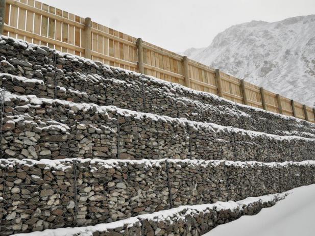 Gabion Wall - Porter Heights