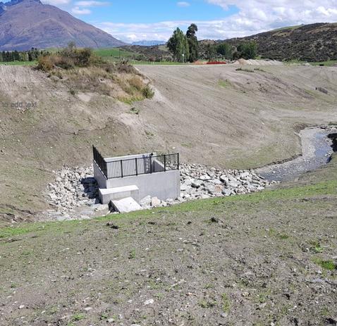 Hanley Farms Retention Dam