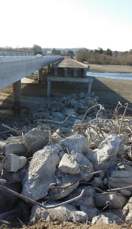 1912 Ashley River Bridge Demolition