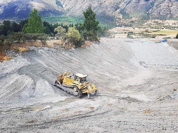 Hanley Downs Retention Dam