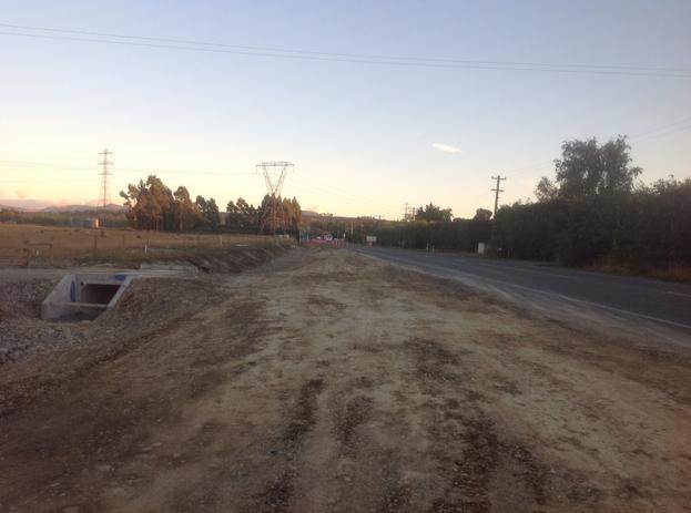 Ashley River Bridge Road Re-alignment