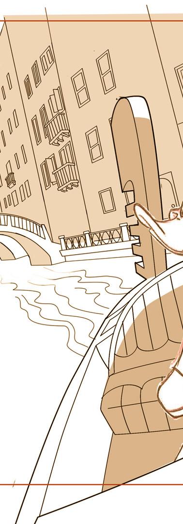 Daffy in Venice