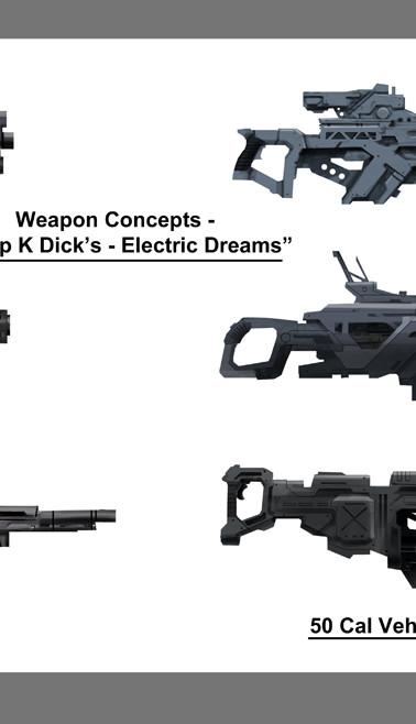 Prop Weapon Designs