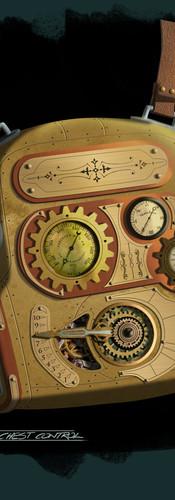 Steampunk Spacesuit Component