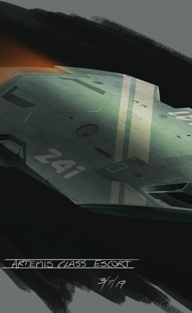 Artemis Class Corvette