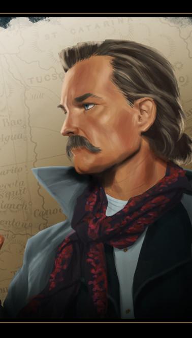 Kurt Russell as Wyatt Earp