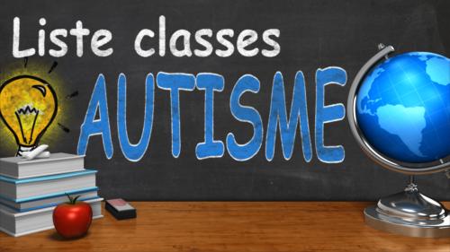Liste écoles autisme Belgique