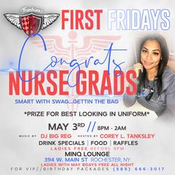 First Fridays (Fambino) May - Nurses