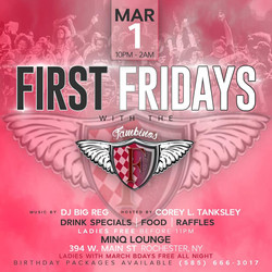 FIRST FRIDAYS - MARCH 2019