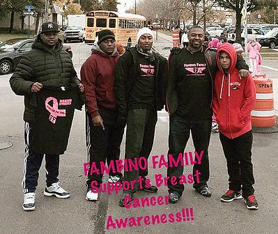 Fambino Family - Breast Cancer Awareness