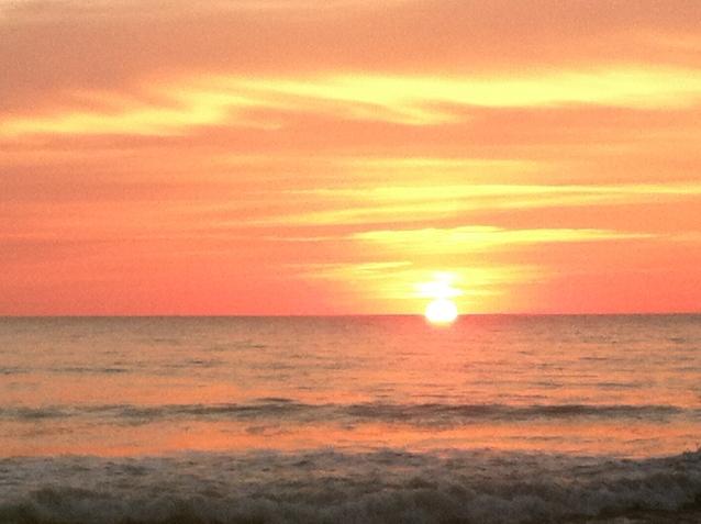 Sunset...last day