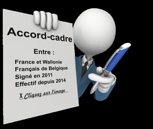 Accord cadre France Belgique handicap