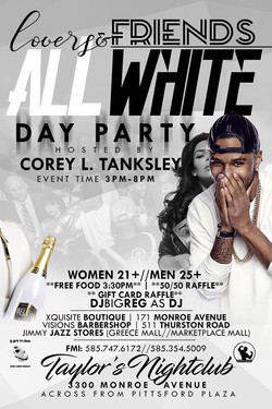 ALL WHITE DAY PARTY 4/22/2017