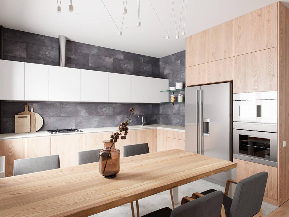 Повний вигляд кухні із вбудованою технікою.jpg