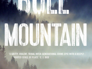 Cover Art for the UK Edition of BULL MOUNTAIN