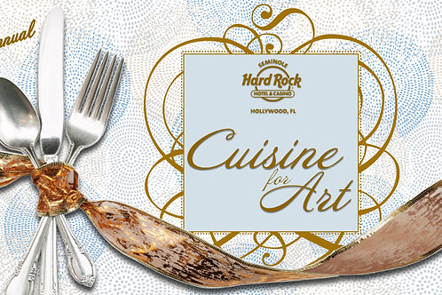 23rd Annual Cuisine for Art Individual Ticket