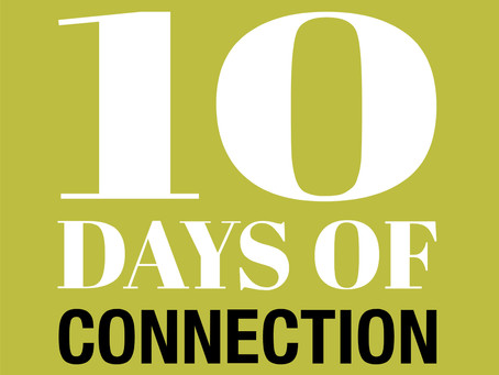The Center Collaborates with 10 Days of Connection