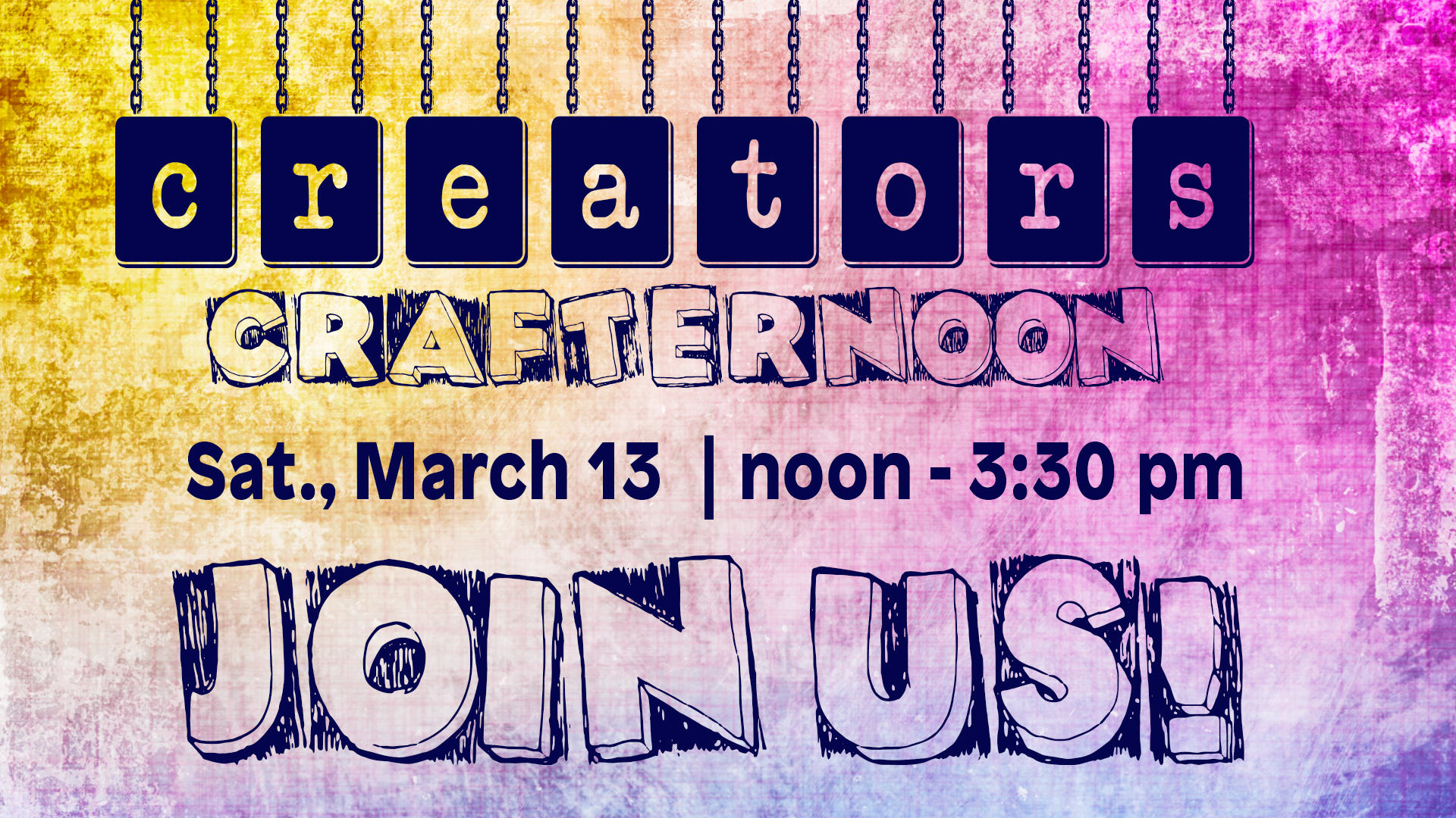 Creators Crafternoon