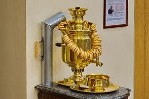 Самовар из музея чая