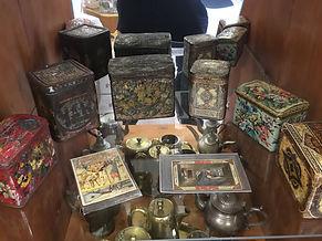 Чайные баночки 19 век