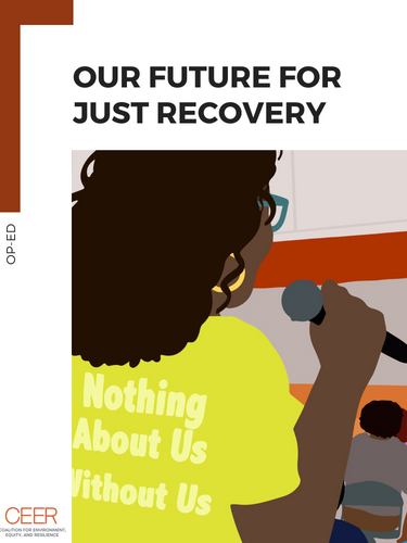 Our Vision For Just Recovery