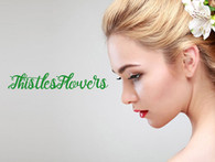 Thistles Flowers