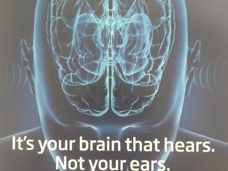 Hearing is thinking