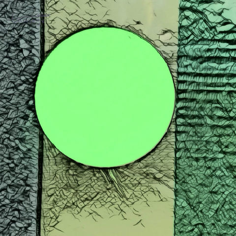 Lime Green Light Bulb