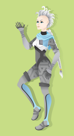 vector art - character