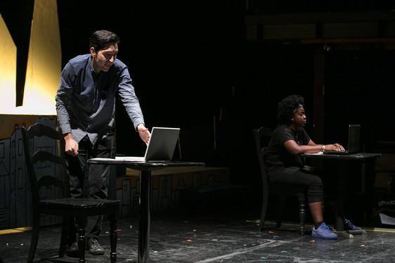 David Dastmalchian and Aisha June inThread (Photo credit:Joel Maisonet)