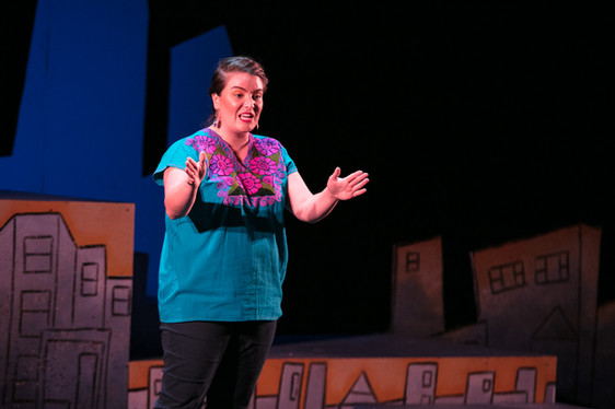 Nancy Garcia Loza inEckhart Park Echoes(Photo credit:Joel Maisonet)