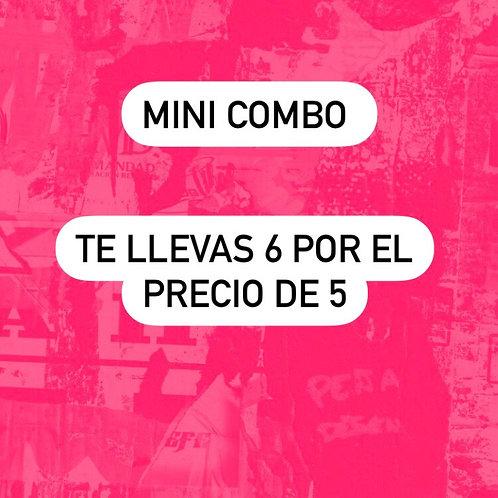 Promo mini combo - 6 por 5