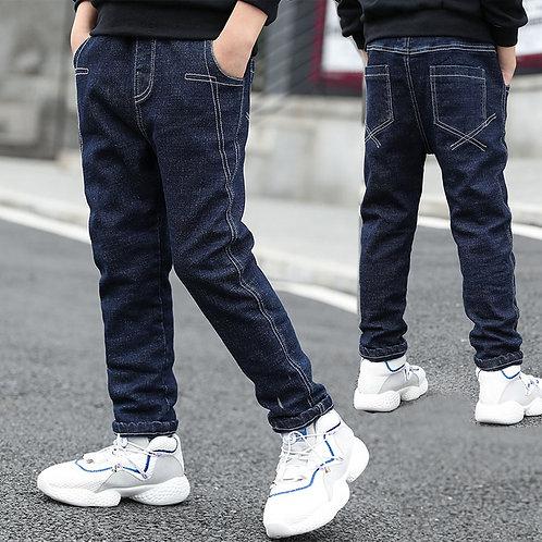 Children Denim Clothing Long Pants Kids Baby Boy Casual Trousers