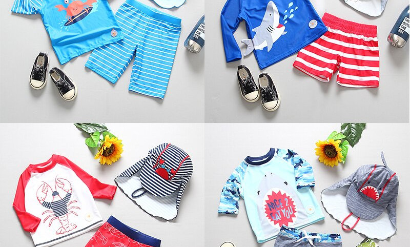 Swimming Suit for Boys Toddler Boy Bathing Clothes Beach Wear