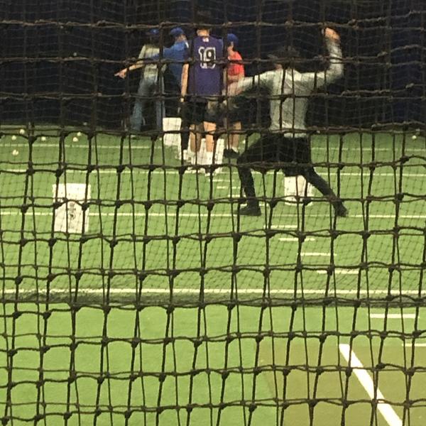 Dodgers training academy