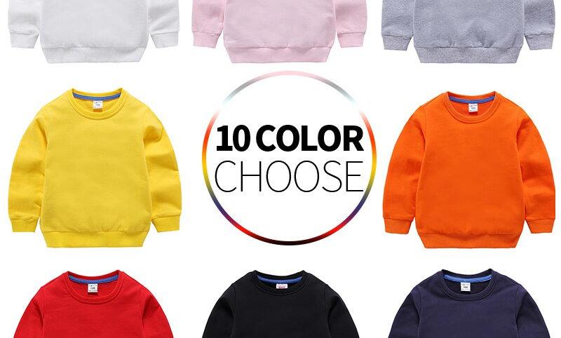 Tops Children Hoodie Boys Sweater Long Sleeves Infant
