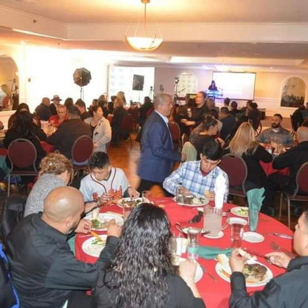 Christmas award dinner put on by L.A.City kids
