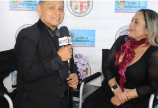 Fernando Red carpet interview with Fedra Sanchez