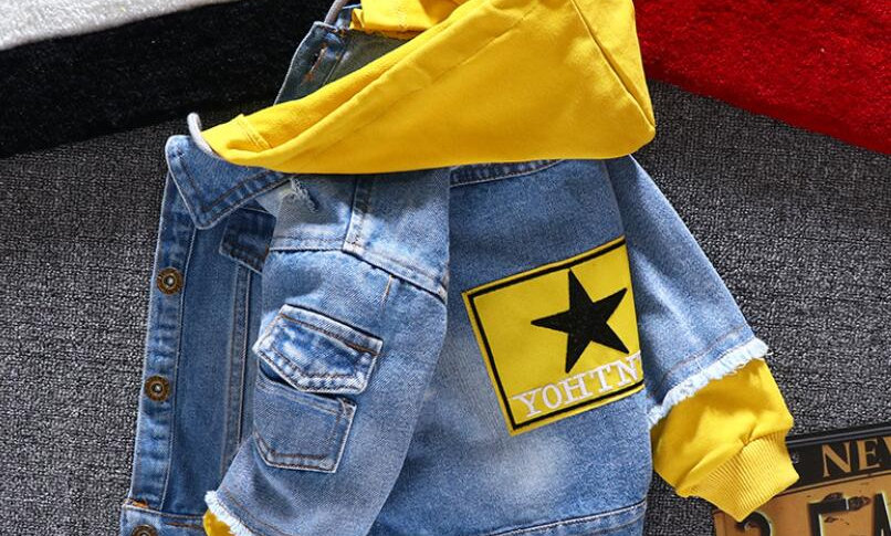 Clothing Spring Autumn Boy Hooded Sport Clothes for 1-6t Kids