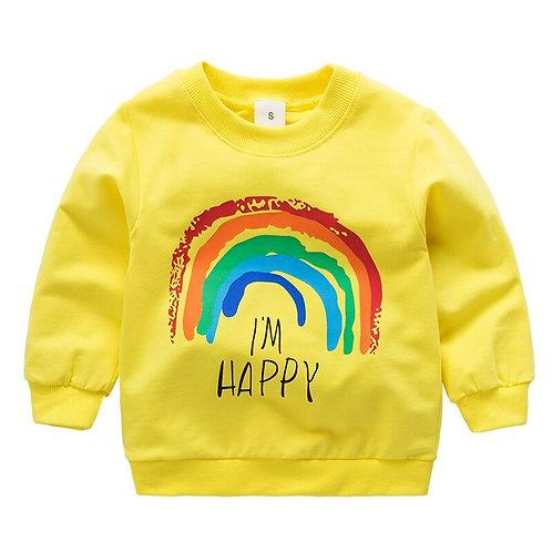 Children Hoodies Long Sleeves Sweater Kids T-Shirt Clothes