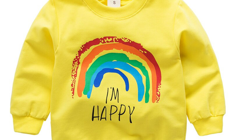 Children Hoodies Long Sleeves Sweater Kids T-Shirt Clothes