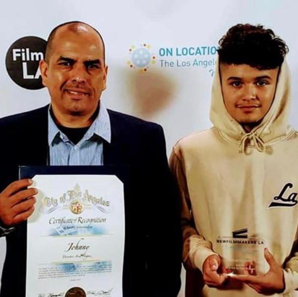 Award night short film Johnny