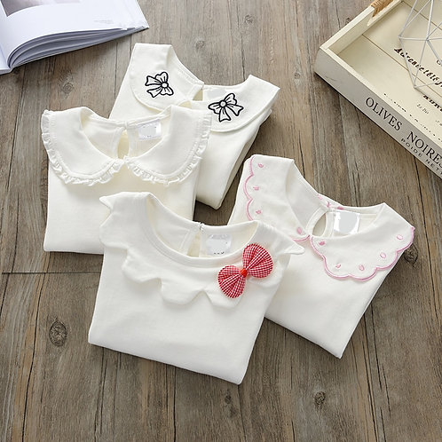 Spring Clothes Girls Shirt Long Sleeve Infant Toddlers 73~130