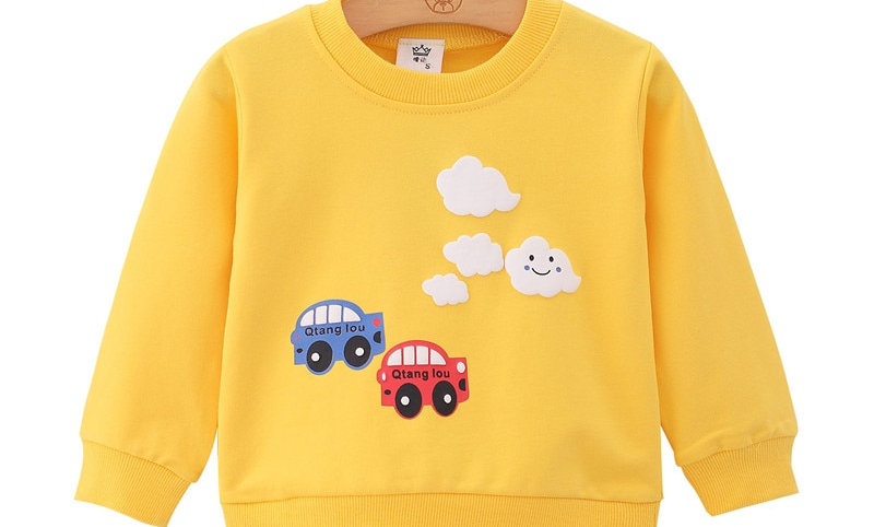Boys Spring Autumn Clothes Toddler Sweatshirt Baby Boy Outfit
