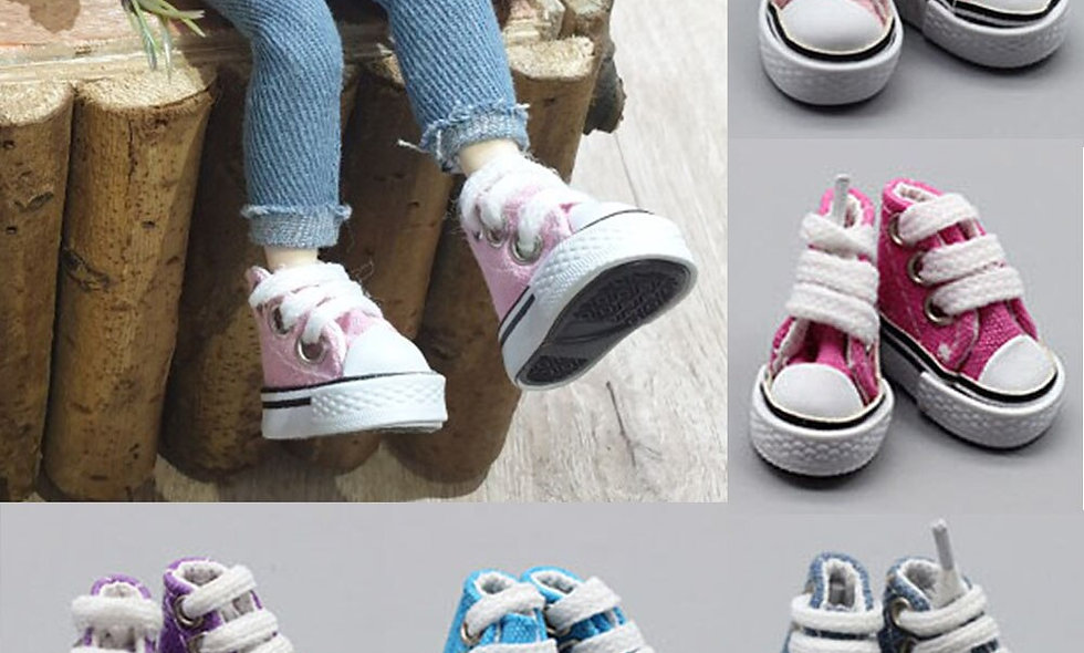 Doll Sneakers Shoes for 1/6 BJD Doll Doll Accessories