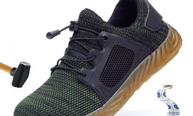 Puncture-Proof Work Sneakers Breathable Shoe Labor Casual Shoes