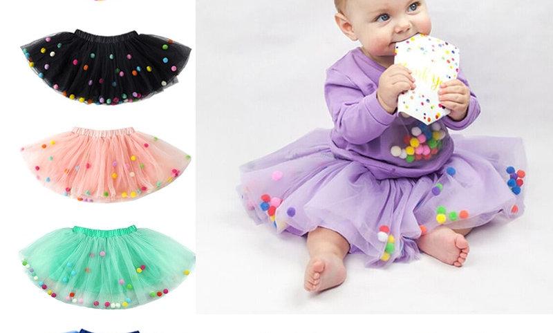 Mini Dress Children Clothing Pettiskirt Girl Clothes